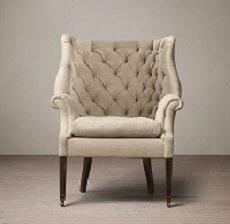 Fotel Milton Linen