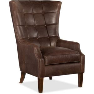 Fotel Merrill Leather Brown