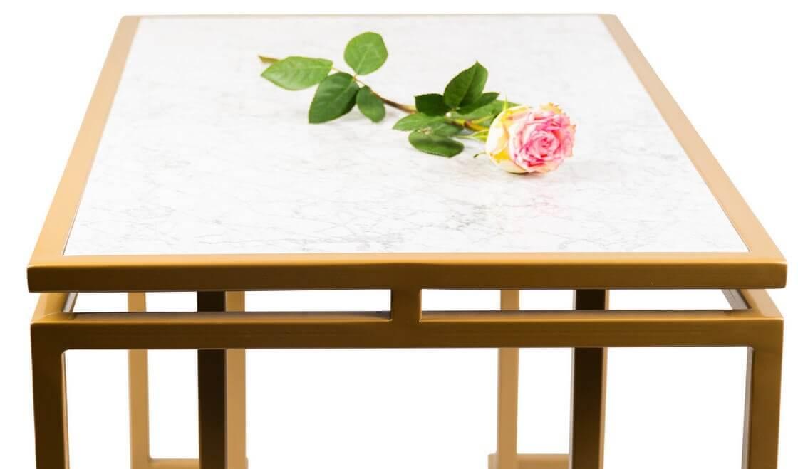Ręcznie wykonany stół