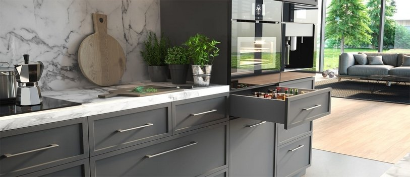Pomysł na nowoczesną kuchnie