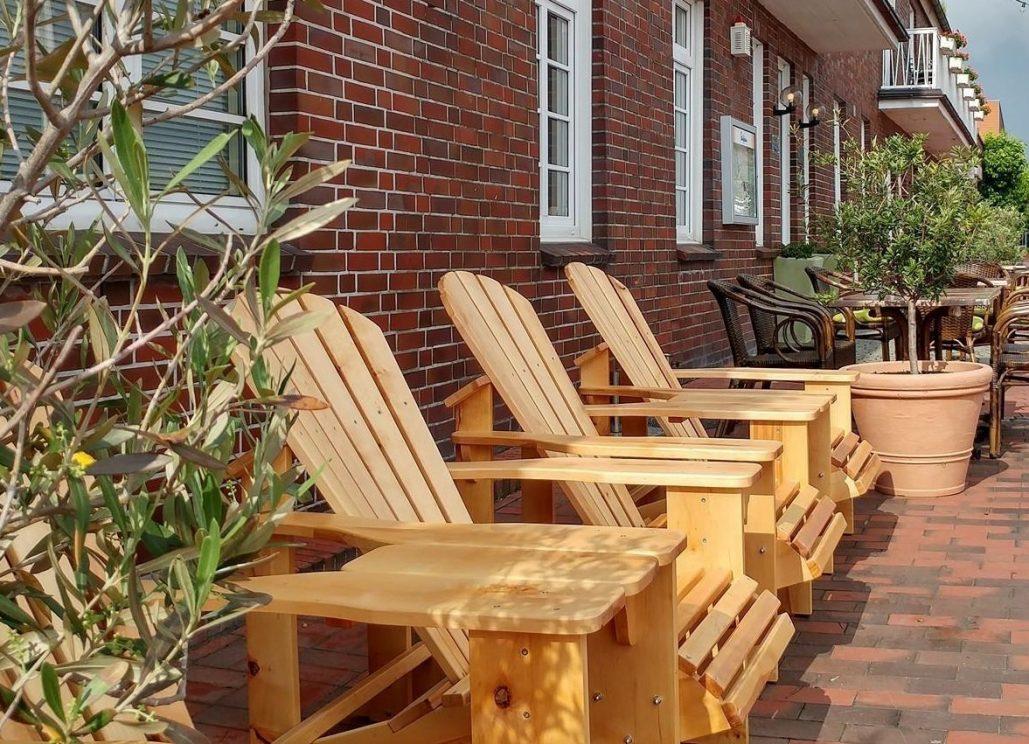 Leżaki drewniane